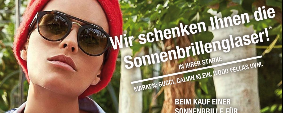 SONNENBRILLEN-AKTION +++ KUBOT OPTIK +++