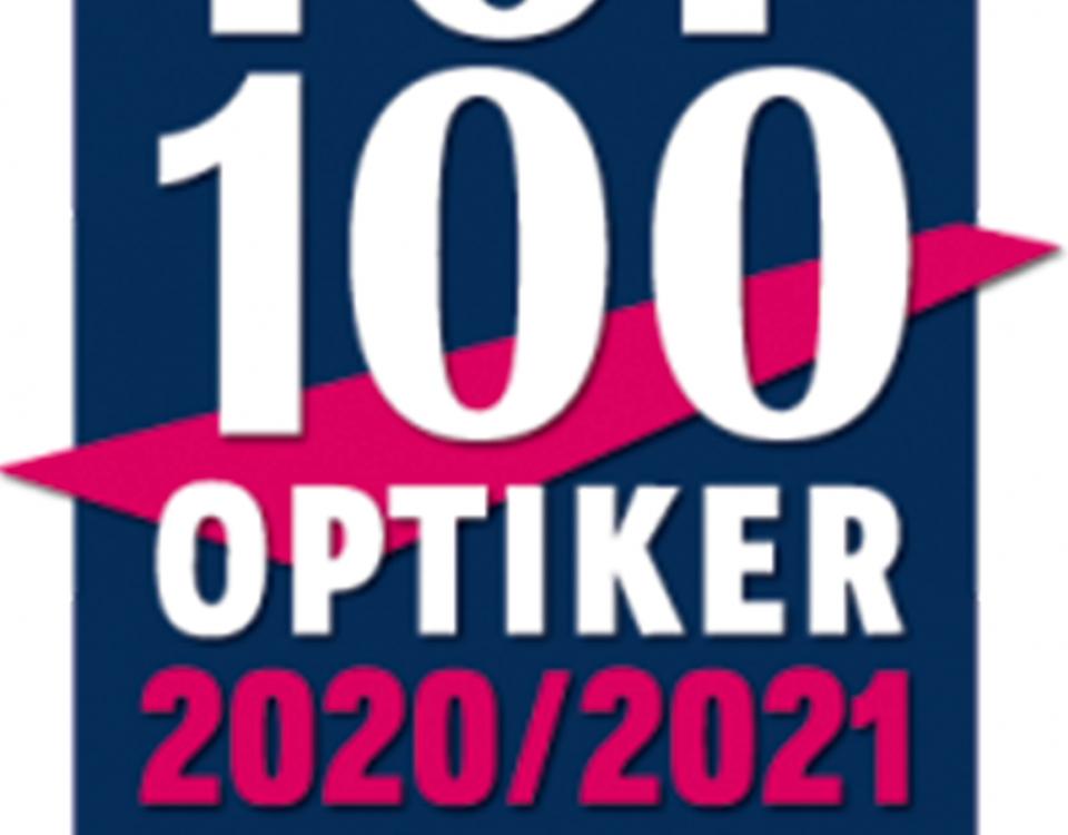 Auszeichnung zum Top 100 Optiker 2020/2021